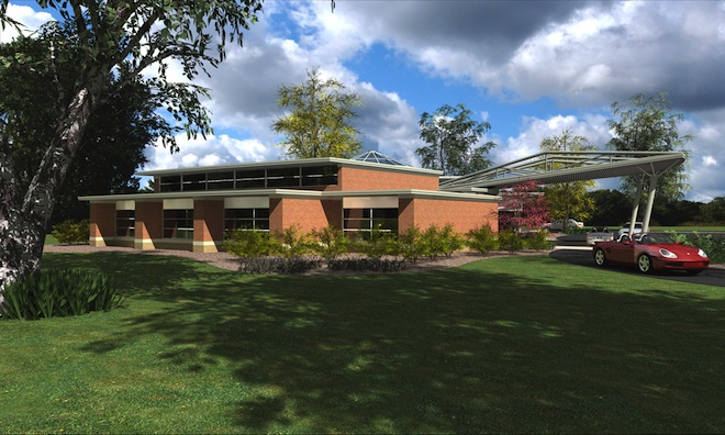 Gen1 Architectural Group:Excel-R-Ation Sports Clinic - Artist's Rendering
