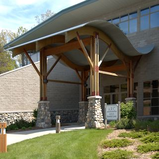 Gen1 Architectural Group:Exterior of Dining & Fellowship Hall