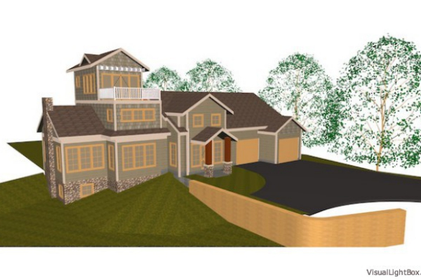The Scenic Shores 3D Rendering